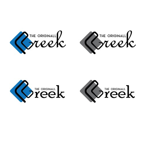 Logo for greek food