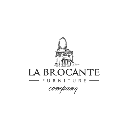 Classic logo for vintage furniture