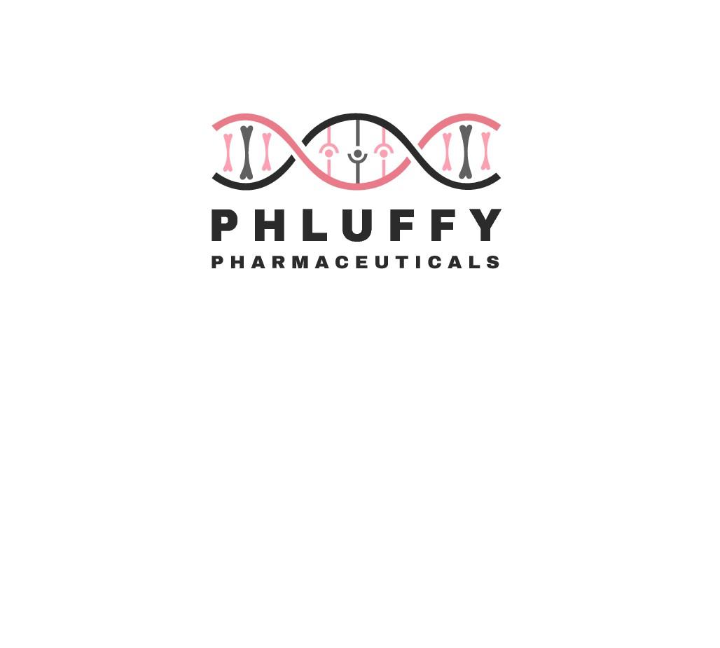 Biotech Company Phluffy Pharmaceuticals Needs Rad Logo