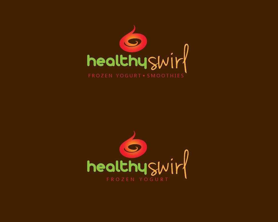 Hi All!! Logo wanted for Healthy Swirl Frozen Yogurt!!!
