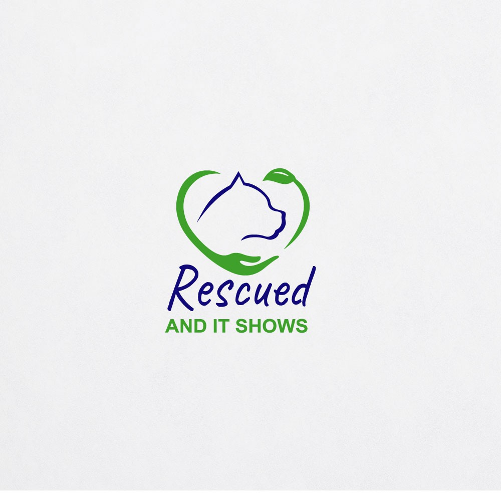 Use logo design as your voice to speak up for rescue dogs