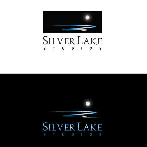 Create a  logo for the film and entertainment company Silver Lake Studios