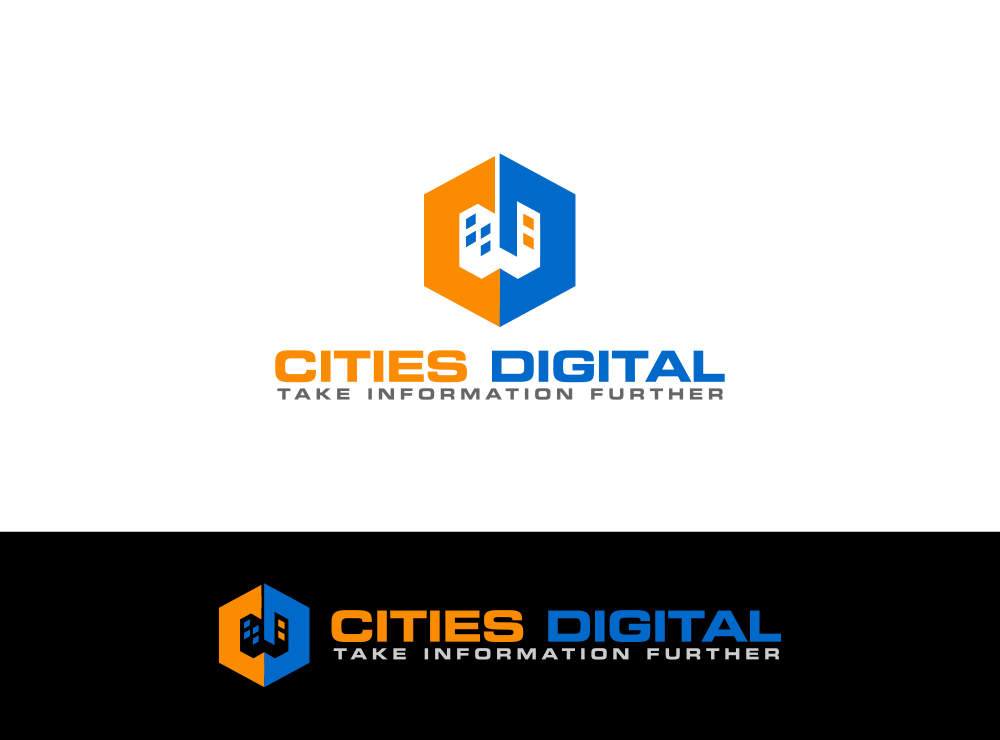 """Create a sophisticated """"digital cities"""" brand mark and logo for software company"""