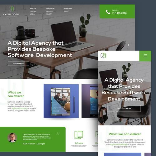 Cactus - Webdesign