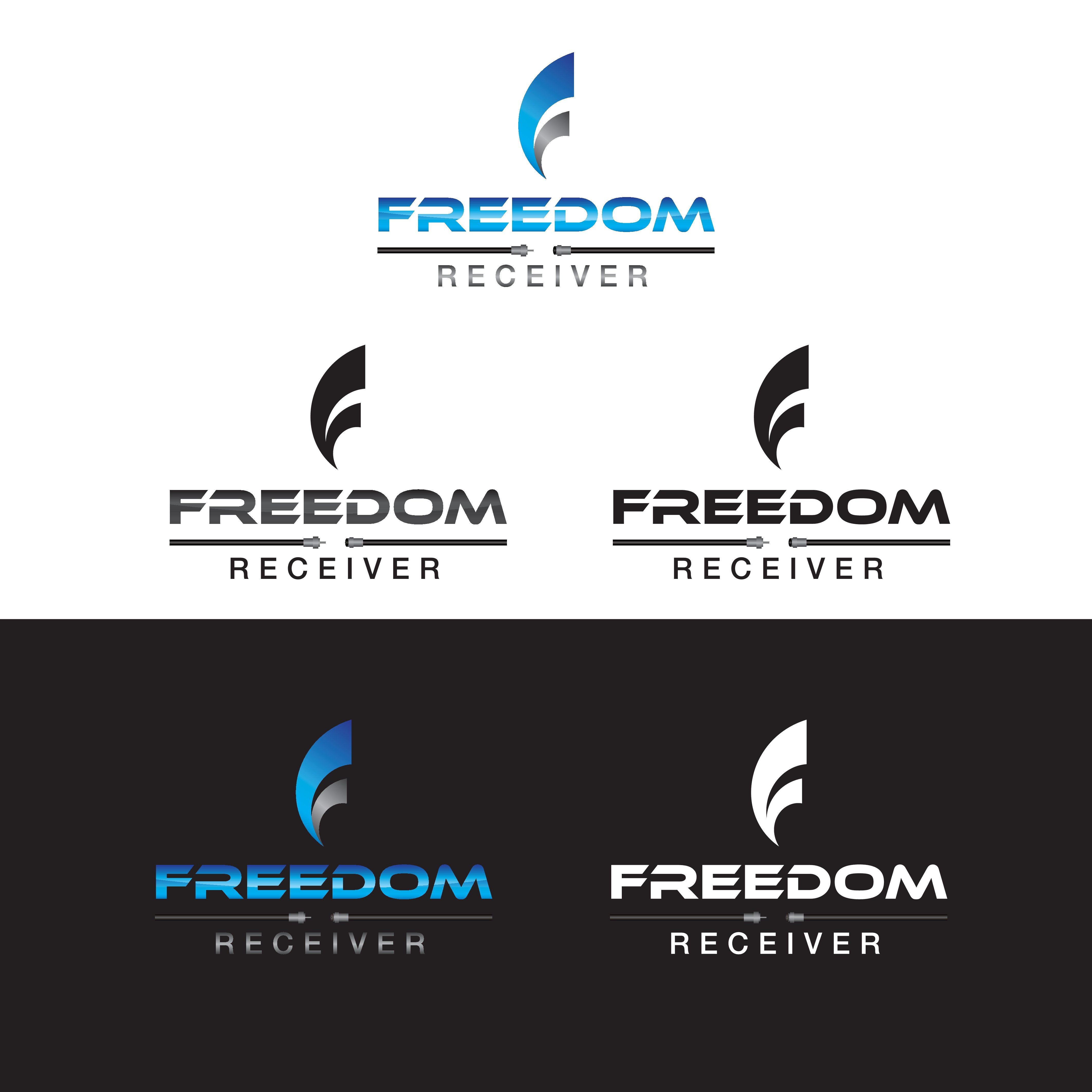 Create a logo for a box that will eliminate cable bills (FREEDOM RECEIVER)