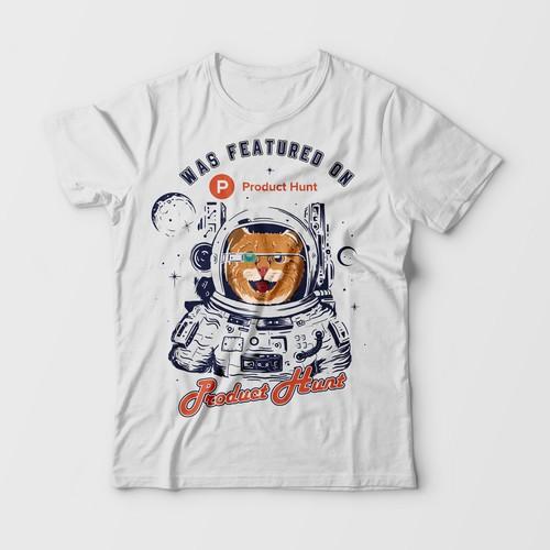 "T shirt Design for ""Product Hunt"""