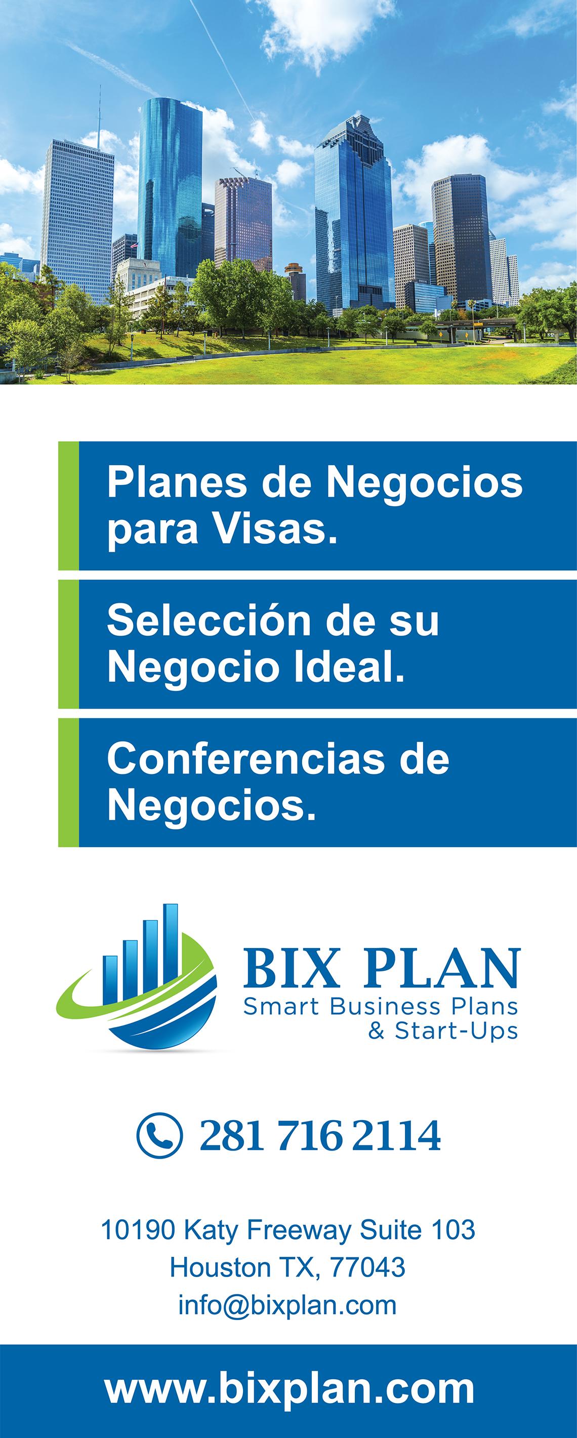 "AD for newspaper ""BIX PLAN"""