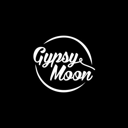 Typography Logo Concept for Gypsy Moon