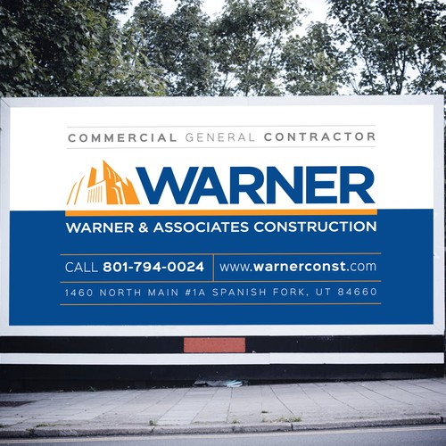 Job Sign for Warner