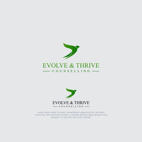 evolove & thrive counselling logo