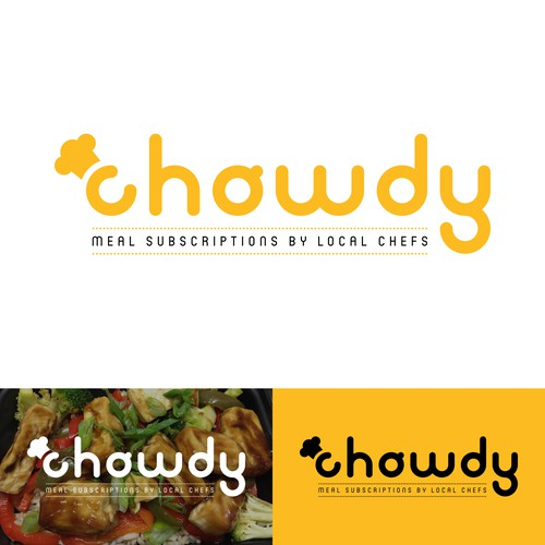 Chowdy logo redesign