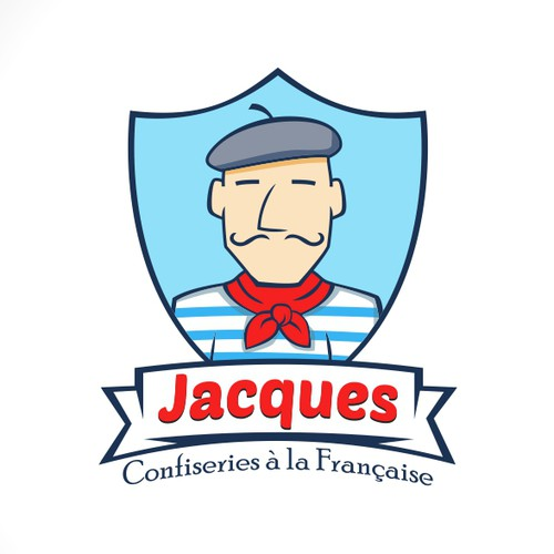 A unique logo for a French business