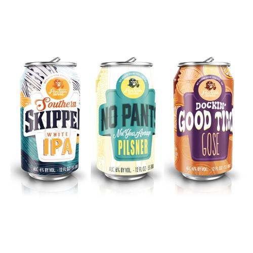 Pontoon Brewing Company Rebrand