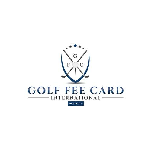 Logo concept for golf