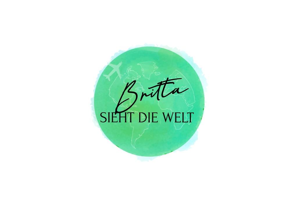 Erstelle ein Logo für Britta, die die Welt sieht