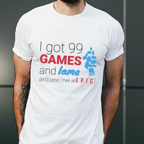 T-shirt design for TCG company