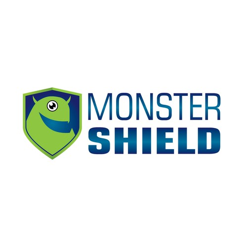 Create a logo for MonsterShield