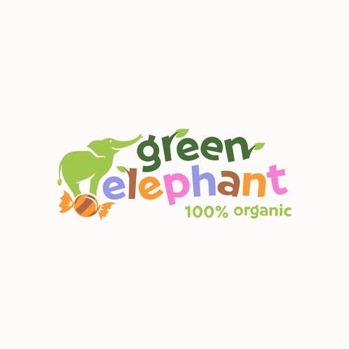 Playful Logo For Organic Candy Shop