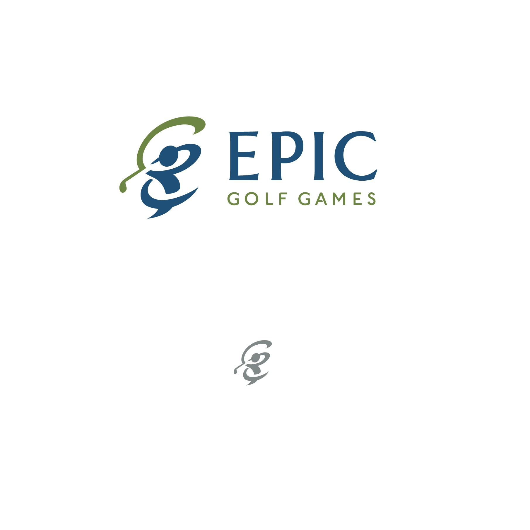 EPIC Golf Games needs a new brand identity/logo for launch of new products