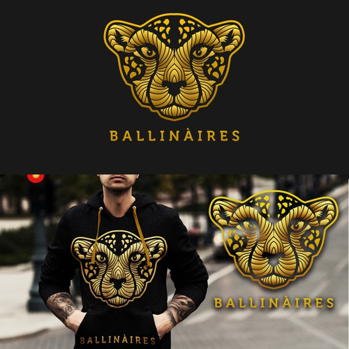 cheetah logo with my style