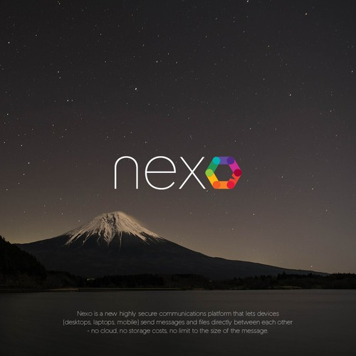 Logo for NEXO