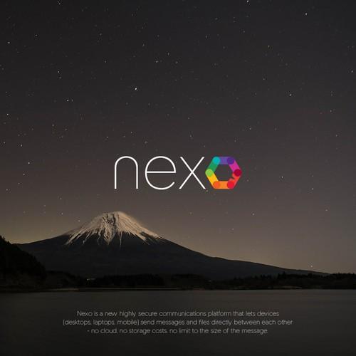 Logo for NEXO