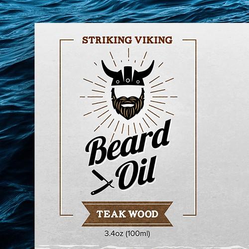 Label Design for Beard Oil