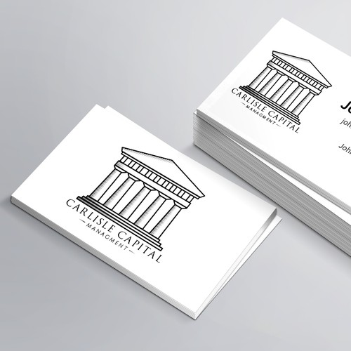 Create a professional looking logo for a real estate management company.