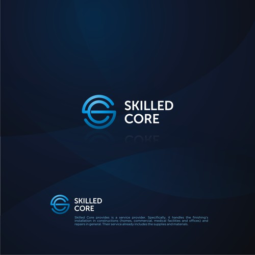 Logo Concept for Skilled Core