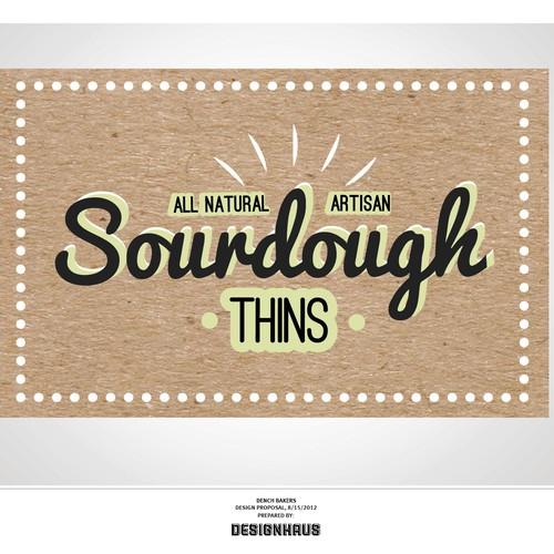 Logo for Dench Sourdough Thins