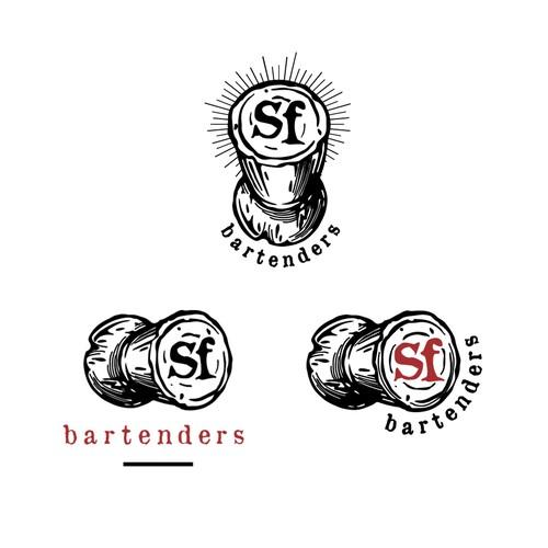 Mobile bartender logo
