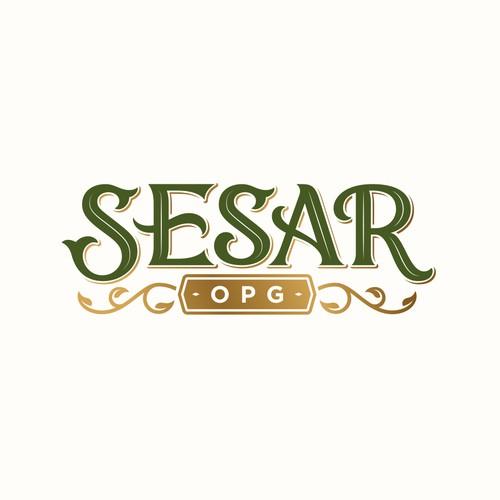 Logo and stamp design for OPG Sesar