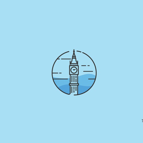 BRMhotels logo concept