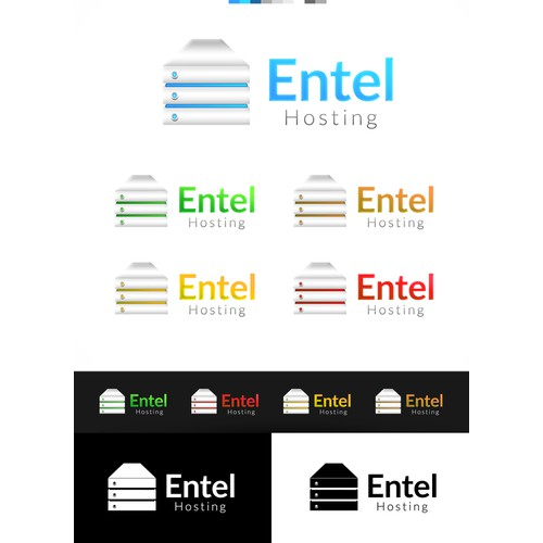 Create a logo for Entel Hosting