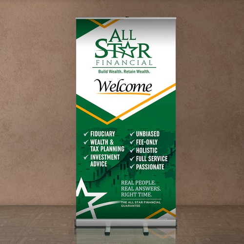 All Star Financial (Roll-Up Banner)
