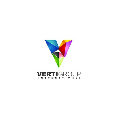 Logo and business cards for Verti Group International