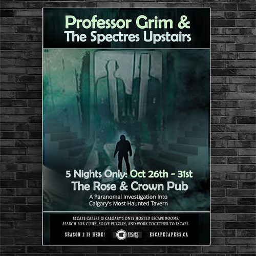 Poster For Paranormal Event
