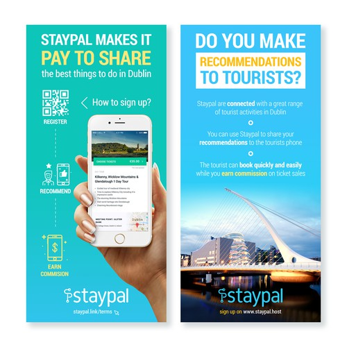 Staypal promotion brochure