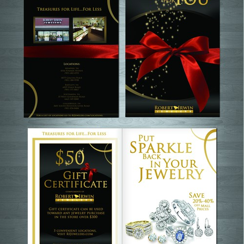 Super Cool Jewelry Booklet that Will Hold A Gift Certificate.
