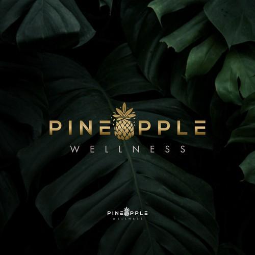 logo design for Pineapple wellness.