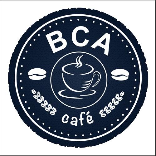 BCA Blue and White Logo