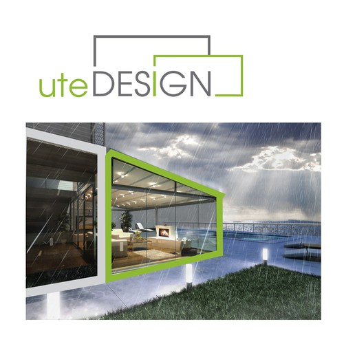 logo for utedesign (meaning: Outdoor Design)