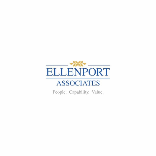 Logo and business card for Ellenport Associates Pty Ltd (website to follow for successful designer)