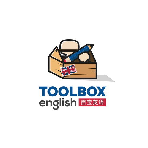 Toolbox English Logo