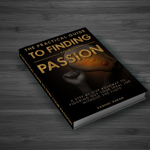Book cover  The practical guide to Finding your passion