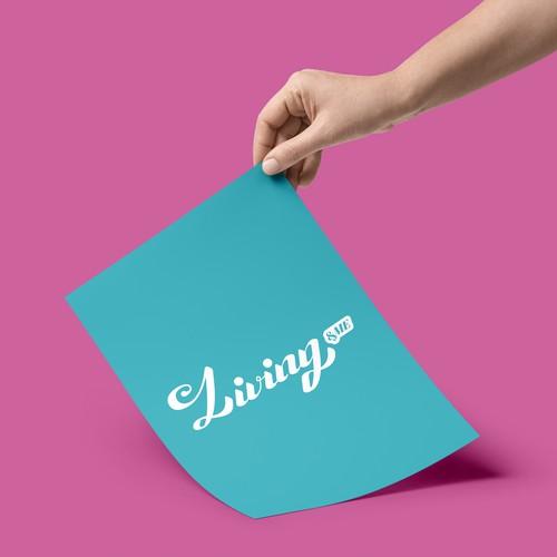 Living & Me logo Design