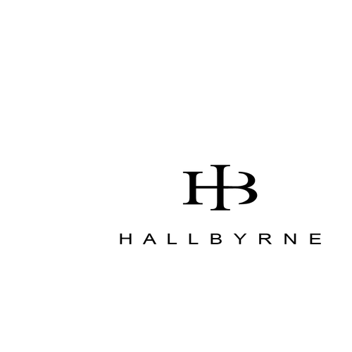 Simple but elegant logo for Hallbyrne