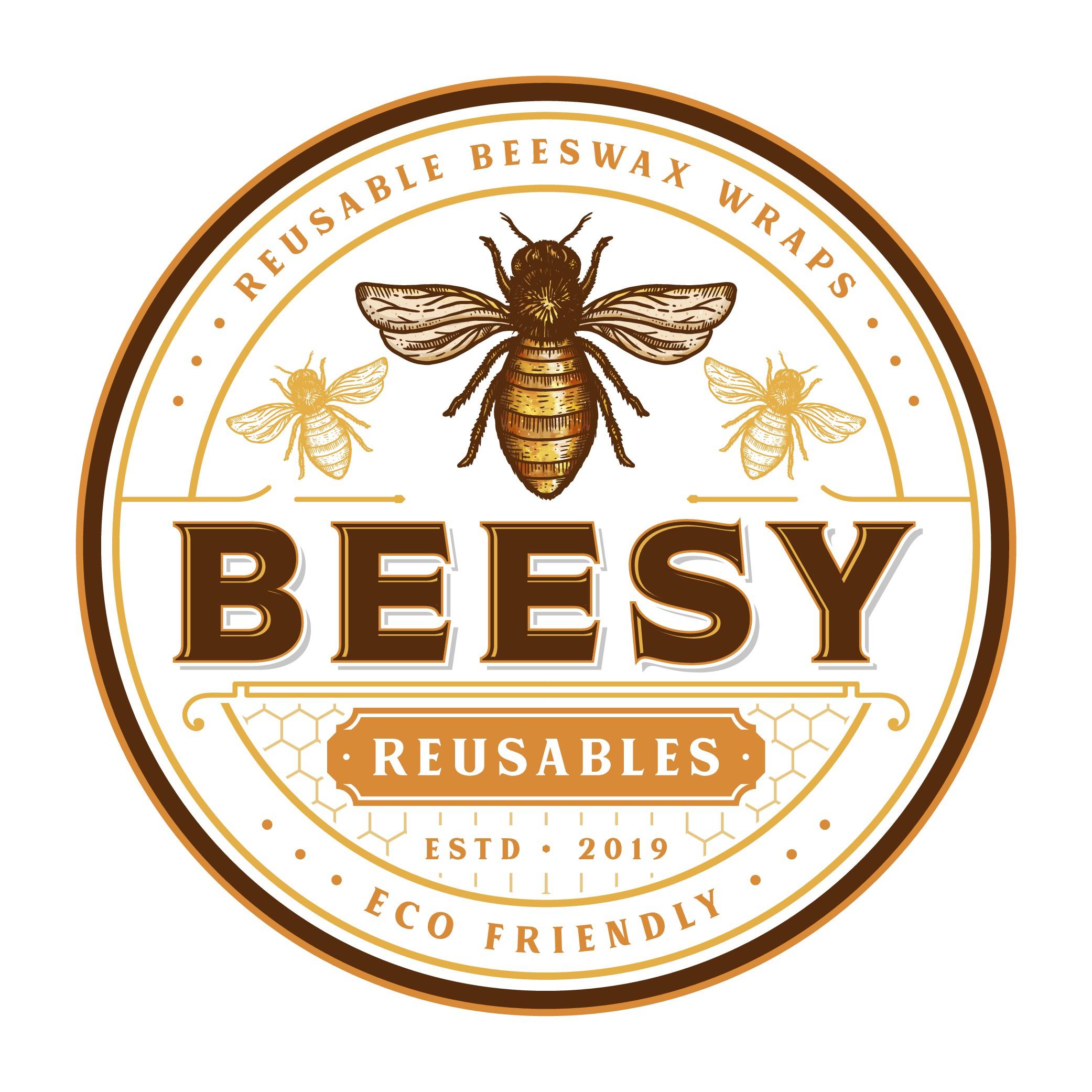 Design a awesome logo for Beesy Reusables (Beeswax Wrap)