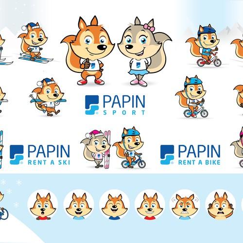 Papin Sport mascot