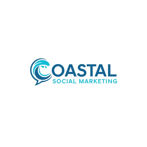 Who's the social with the mostest for our Coastal Social logo???